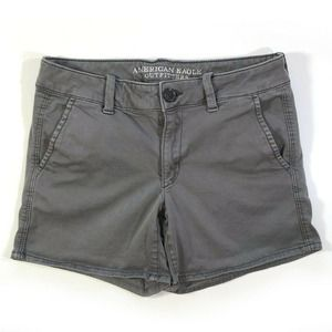American Eagle Outfitters Stretch Midi Shorts